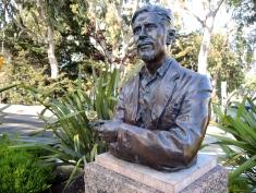 Statue of Ed Ricketts