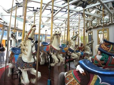 Yerba Buena Garden carousel